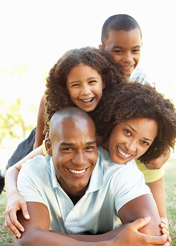 Regular chiropractic adjustments keep this family active and happy