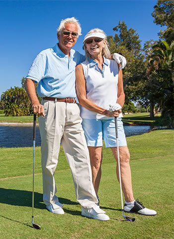 Chiropractic care allows these seniors to play golf