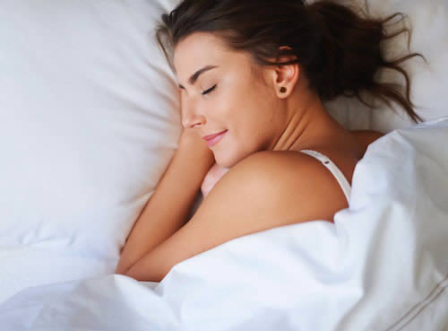 A peaceful night sleep made possible through chiropractic care.